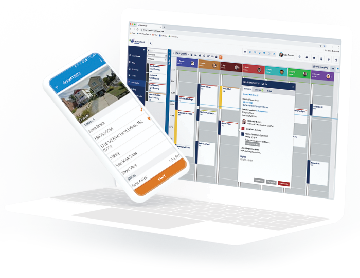 Home Service Business Scheduling Software   WorkWave Service