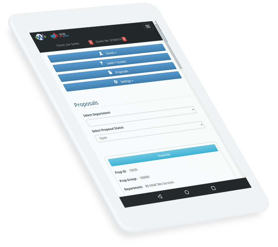 Enterprise work order field app